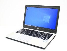 【中古】あす楽 WEBカメラ搭載 Microsoft Office 2019 付き 送料無料 ノートパソコン Windows10 NEC VersaPro タイプVB UltraLite PC-VKL23BZG1 Core i3 6100U 2.3GHz メモリ 8GB SSD256GB Bランク H8