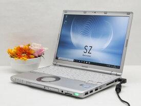 【中古】あす楽 ノートパソコン Office付き Windows10 Panasonic Let's note CF-SZ5ADCKS Core i5 6300U 2.4GHz メモリ 4GB 新品SSD 256GB DVD-RW レッツノート Cランク N2