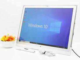 【中古】あす楽 送料無料 タフパッド Office付き Windows10 Panasonic TOUGHPAD UT-MB5025SBJ Core i5 3437U 1.9GHz メモリ 8GB SSD 256GB 使用時間40時間 Bランク A24