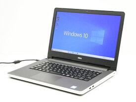 【中古】 WEBカメラ搭載 送料無料 ノートパソコン Office付き Windows10 DELL Inspiron 5459 Core i5 6200U 2.3GHz メモリ 8GB 新品SSD256GB DVD-RW Cランク T29