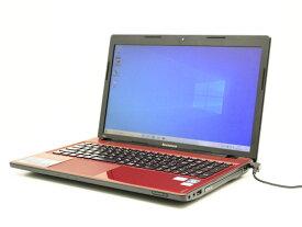 【中古】あす楽 送料無料 ノートパソコン Office付き Windows10 Lenovo IdeaPad Z580 Core i5 3210M 2.5GHz メモリ 4GB 新品SSD 256GB DVD-RW Bランク X21