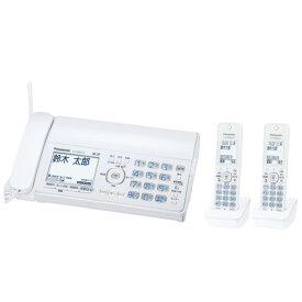 Panasonic パナソニック デジタルコードレス普通紙FAX おたっくす KX-PD305DW-W ホワイト【即納・送料無料】