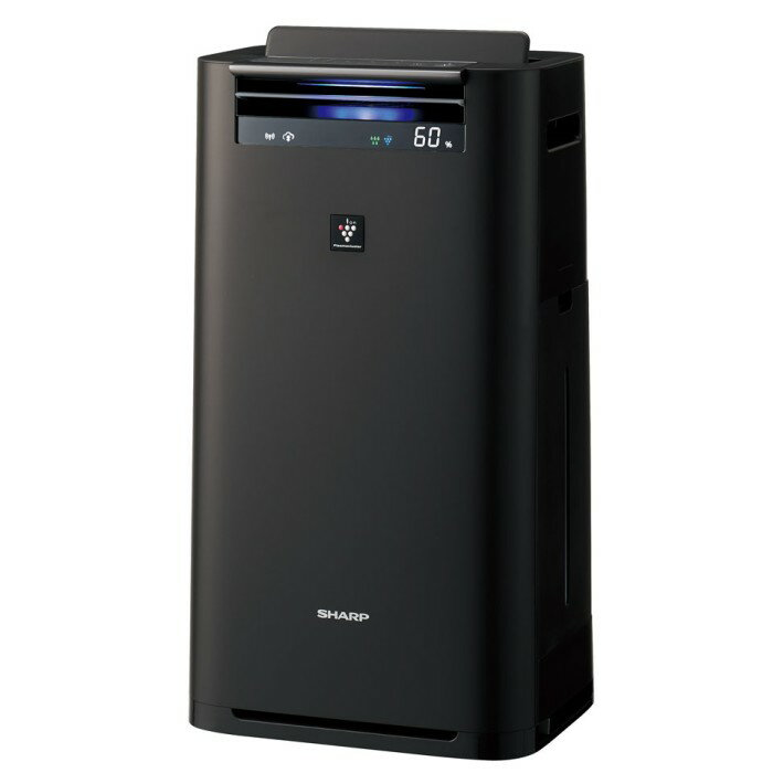 SHARP 高濃度プラズマクラスター25000搭載 加湿空気清浄機 KI-HS50-H グレー 【即納・送料無料】