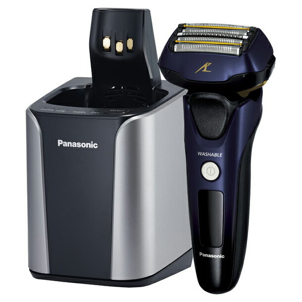 Panasonic パナソニック 電気シェーバー 5枚刃 ラムダッシュ ES-CLV7B-A 青 【送料無料・即納】(同等品:ES-LV7B-A)【02P03Dec16】