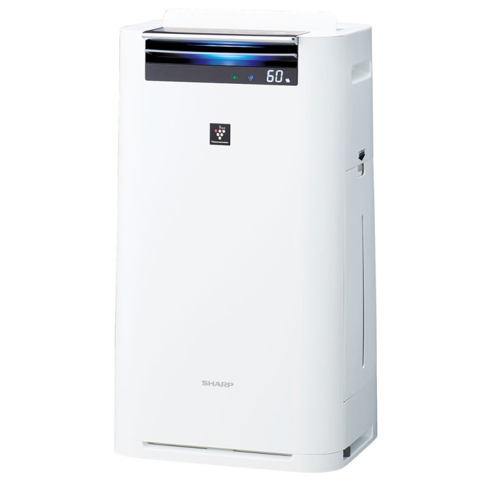 SHARP プラズマクラスター25000 加湿空気清浄機 KI-GS70-W ホワイト 【即納・送料無料】【02P03Dec16】