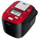 Panasonic パナソニック スチーム&可変圧力IHジャー炊飯器 5.5合 SR-SPX106-RK ルージュブラック 【即納・送料無料】【02P03Dec16】