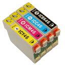 """【インク処分価格】E社 IC46シリーズ 対応互換インク 6個選び """"顔料"""" ICY46,ICM46, ICC46,ICBK46の中からお好きな色を…"""