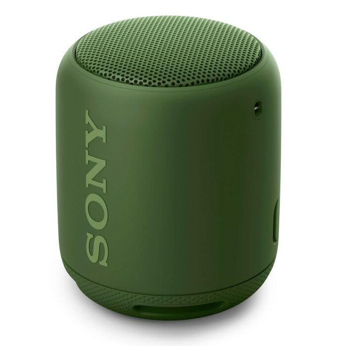 SONY ソニー Bluetooth対応 ワイヤレスポータブルスピーカー SRS-XB10-G グリーン 【即納・送料無料】