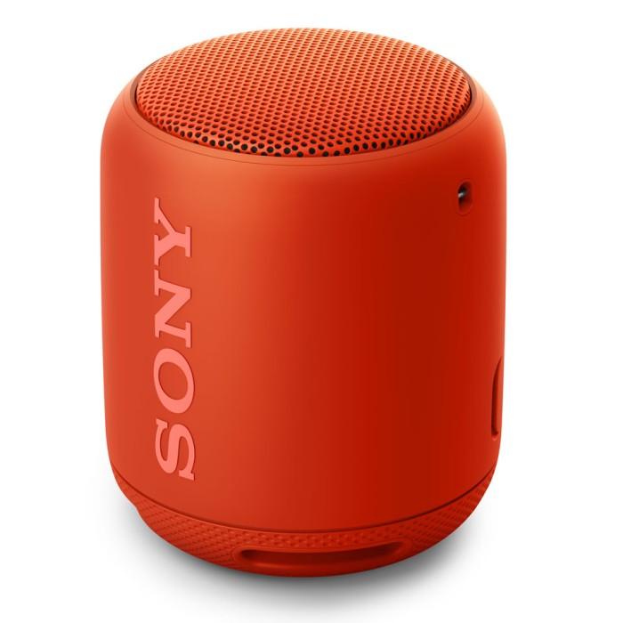 SONY ソニー Bluetooth対応 ワイヤレスポータブルスピーカー SRS-XB10-R オレンジレッド 【即納・送料無料】