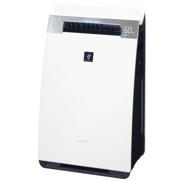 SHARP 高濃度プラズマクラスター25000搭載 加湿空気清浄機 KI-HX75-W ホワイト 空清34畳まで/加湿21畳まで【即納・送料無料】シャープ【02P03Dec16】