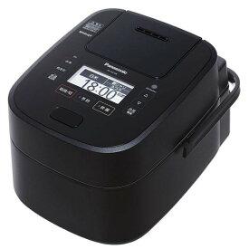 Panasonic パナソニック スチーム&可変圧力IHジャー炊飯器 5.5合 SR-VSX108-K ブラック 【即納・送料無料〜】