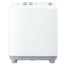 Haier ハイアール 4.5kg 2槽式洗濯機 JW-W45E-W ホワイト 【即納・送料無料・代引不可】@