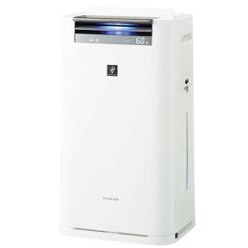 SHARP 加湿空気清浄機 KI-JS70-W ホワイト 高濃度プラズマクラスター25000搭載 シャープ 【即納・送料無料】