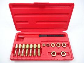 タップダイスセット ボルト式 ネジピッチやすり付 ミリサイズ ねじ山修正工具 M6x1 M8x1.25 M10x1.25 M10x1.5 M12x1.25 M12x1.5 M12x1.75 【60日安心保証付】