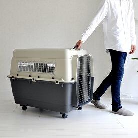 【5/25まで全品ポイント3倍】ペットキャリーバッグDX100 デラックス XXL 大型犬 超大型犬 外寸:奥行約100cm×横約67.5cm×高さ約74cm 送料無料 プチリュバン