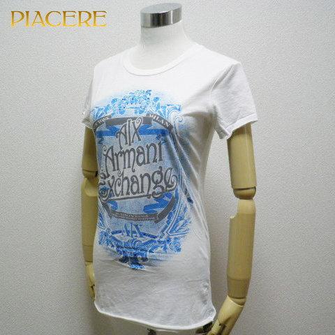 アルマーニ エクスチェンジ 0T5X431 WH Tシャツ 送料無料 新品 セール