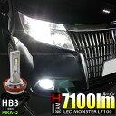 【前照灯】トヨタ エスクァイアハイブリッド[ZWR80G]ハイビームライト対応LED MONSTER L7100 LEDハイビームバルブ…