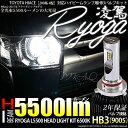 【前照灯】トヨタ ハイエース[200系 4型 LEDヘッドランプ装着車]ハイビームライト対応LED 凌駕-RYOGA-L5500 LEDヘッドライトキット 明る...