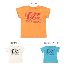 【セール50%OFF】【メール便OK】エフオーキッズ F.O.KIDS ペンギン旅行Tシャツ【男の子】【80-140】【r207479】