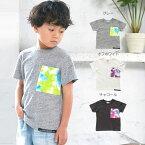 タイダイ風ポケットTシャツ