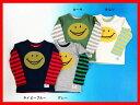 セール50%OFF[メール便送料無料]エフオーキッズ F.O.KIDS 2PスマイルTシャツ