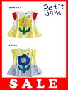 セール30%OFF[メール便送料無料]Petit jam(プチジャム)お花コラージュチュニック