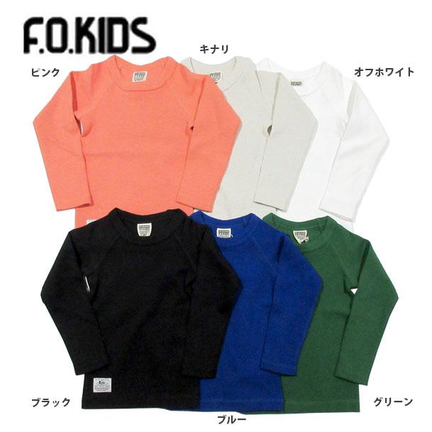 【セール50%OFF】【メール便OK】エフオーキッズ F.O.KIDS ワンポイントTシャツ【男の子】【女の子】【80-140】【r106018】