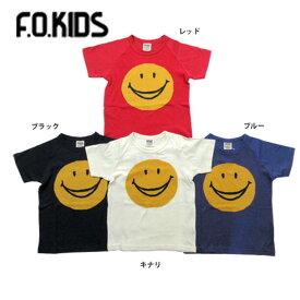 【セール50%OFF】【メール便送料無料】エフオーキッズ F.O.KIDSスマイルニットTシャツ【男の子】【80-140】【r207108】