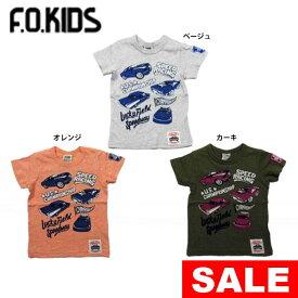 【セール50%OFF】【メール便OK】エフオーキッズ F.O.KIDS レーシングカーTシャツ【男の子】【80-140】【r207308】