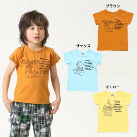 【セール50%OFF】【メール便OK】エフオーキッズ F.O.KIDS 3柄刺繍Tシャツ【男の子】【80-140】【r307018】
