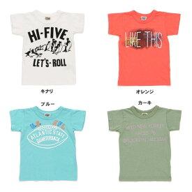 【セール50%OFF】【メール便OK】エフオーキッズ F.O.KIDS 4色4柄半袖Tシャツ【男の子】【80-140】【r307038】