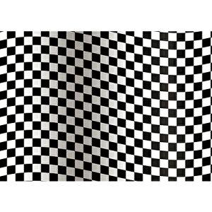 置き式背景チェンジ専用ポスター コレクションケース幅43cm用 A3サイズ チェック白×黒