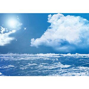 置き式背景チェンジ専用ポスター コレクションケース幅43cm用 A3サイズ  海