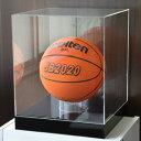 【送料無料】 サインボールケース/バスケットボールケース/ディスプレイケース/展示ケース/幅33cm/奥行33cm/高さ36cm