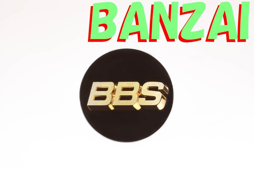 BBS 正規品 Emblem Black エンブレム ブラック 56Φ P5624002G