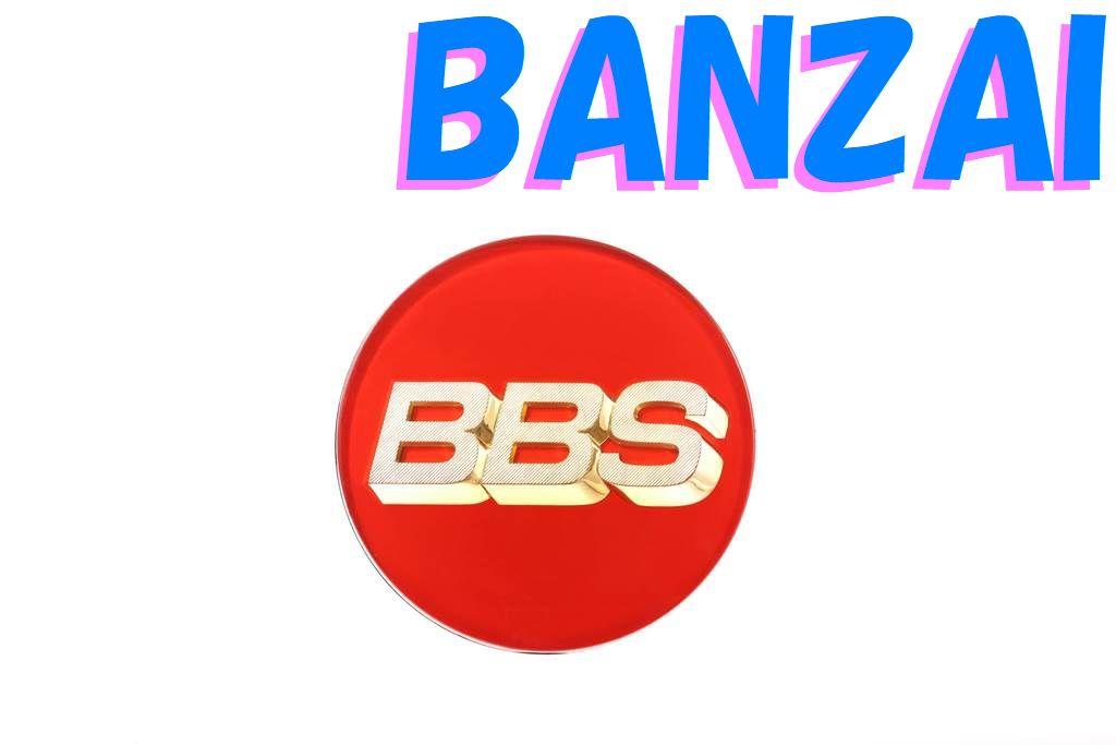 BBS 正規品 Emblem Red エンブレム レッド 70Φ P5624099