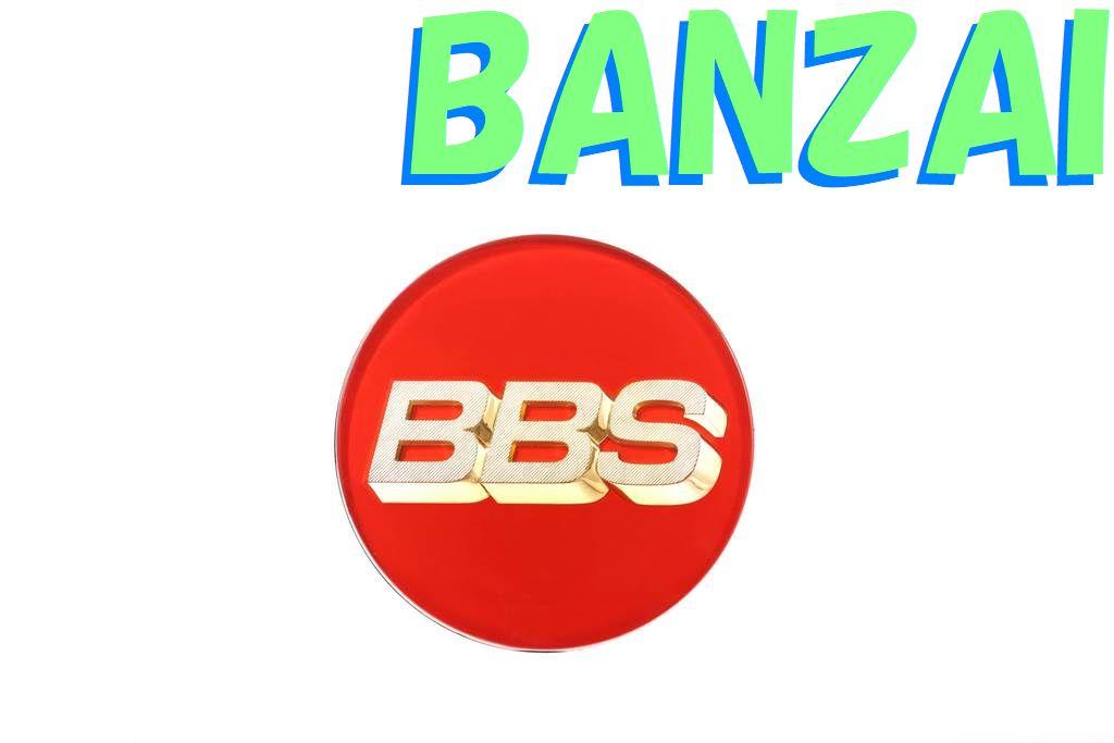 BBS 正規品 Emblem Red エンブレム レッド 56Φ P5624100