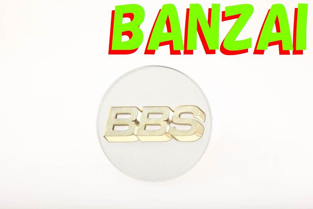 BBS 正規品 Emblem Platinum Silver エンブレム プラチナシルバー 70Φ P5624190