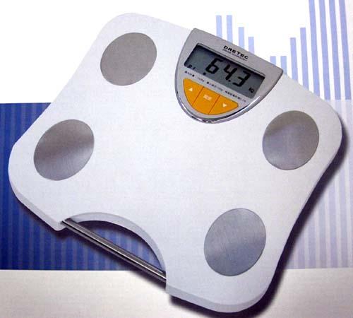 ドリテック・体重体組成計■ドクタースキャン BS-212■体重・体脂肪・体水分量・筋肉量を測定可能■新品