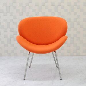 オレンジスライスチェア/ピエールポーリン デザイン/色 オレンジ/デザイナーズ家具 一人用 一人掛け ソファ イス 椅子 Orange Slice Chair Pierre Paulin アウトレット