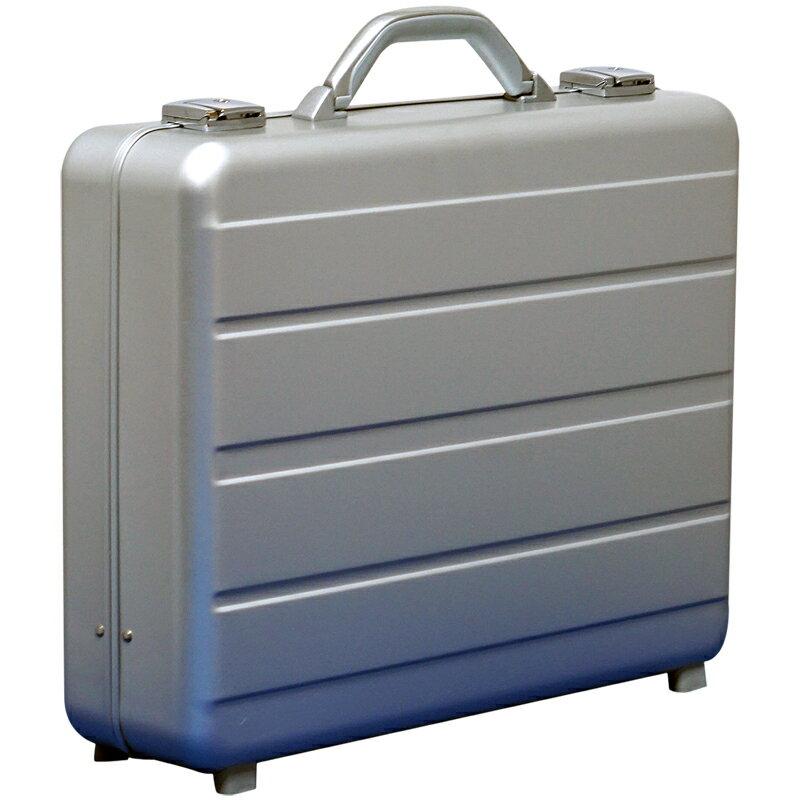 アルミ製 アタッシュケース LLサイズ A3サイズ対応 シルバー 軽量モデル ノートパソコン収納可能 ビジネスバッグ ブリーフケース PCケース パソコンバッグ