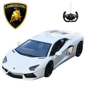 アヴェンタドール 1/10 RC ランボルギーニ正規ライセンス品 ラジコン ホワイト 白 ミニカー