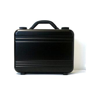 アルミ製 アタッシュケース Sサイズ A4サイズ対応 ブラック 軽量モデル ノートパソコン収納可能 ビジネスバッグ ブリーフケース PCケース パソコンバッグ