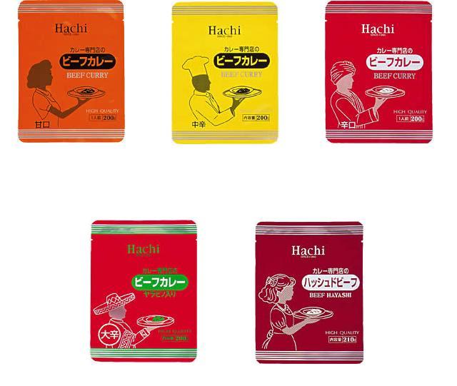 ハチ食品 カレー専門店 シリーズ 30個 セット レトルトカレー & ハッシュドビーフ 10P03Dec16