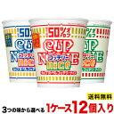 【送料無料 ※北海道・沖縄は除く】日清食品 カップヌードル ナイス 1ケース12個入 3つの味から選べる・ポークしょう…