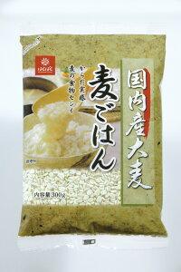 麦ごはん 国内産大麦 お手軽お試しサイズ 麦の食物繊維 はくばく 300g×12袋 10P03Dec16