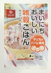 まいにちおいしい雑穀ごはん 便利な小分けタイプ まとめ買い はくばく 25g×6袋×6パック 10P03Dec16
