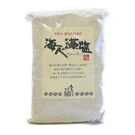 広島 蒲刈 藻塩 海人の藻塩 ホンダワラ 【蒲刈物産】 海人の藻塩業務用1キロ詰袋