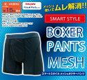 【送料無料】失禁パンツ 男性用 ボクサー SMART STYLE MESH BOXER PANTS(スマートスタイルメッシュボクサーパンツ)…