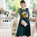 ドレス パーティードレス 結婚式 ワンピース 二次会 フォーマルドレス ファッション フォーマル お呼ばれ 服装 ミセス…